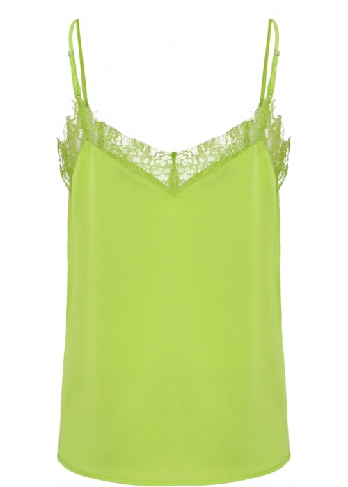 Trille lace top NEON GREEN
