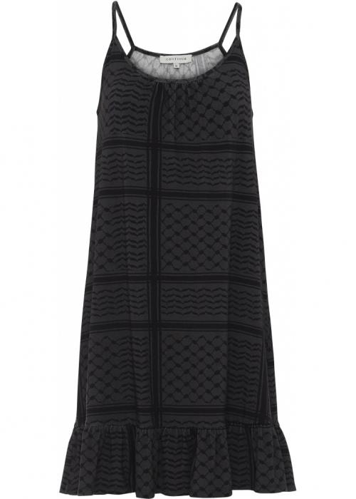 Mia partisan dress GREY/BLACK