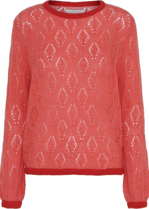 Wilma jacquard knit ORANGE