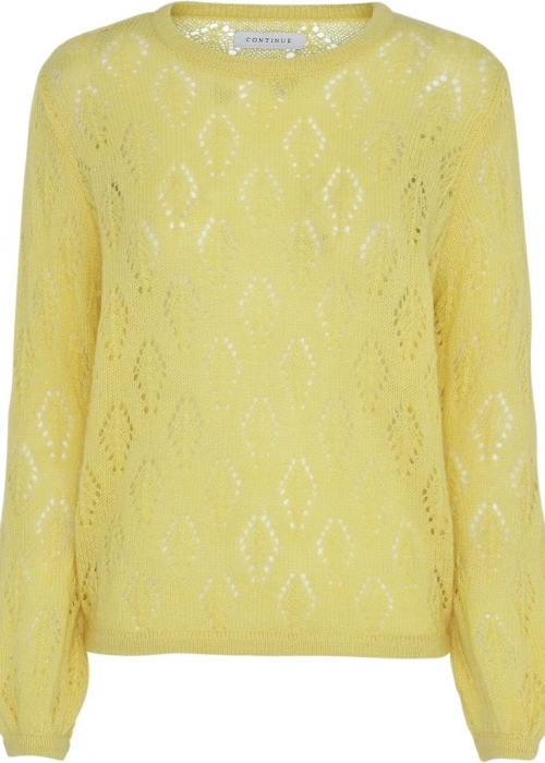 Wilma jacquard knit YELLOW