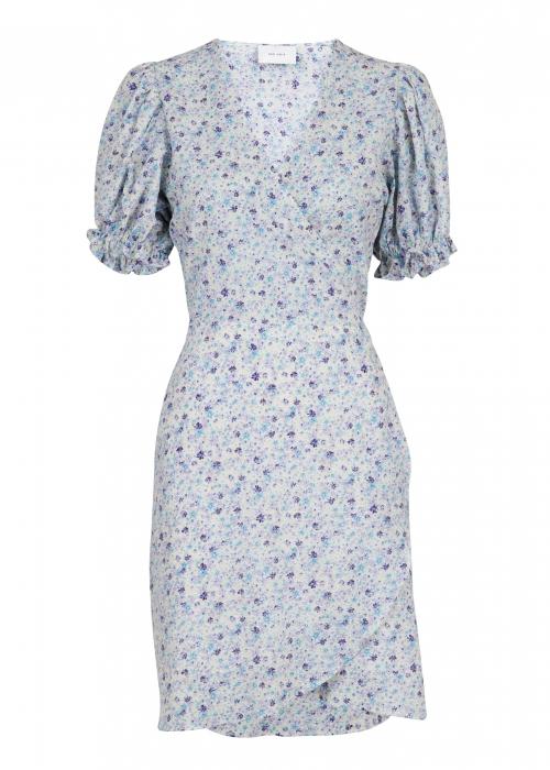 Spang summer floral dress LIGHT BLUE
