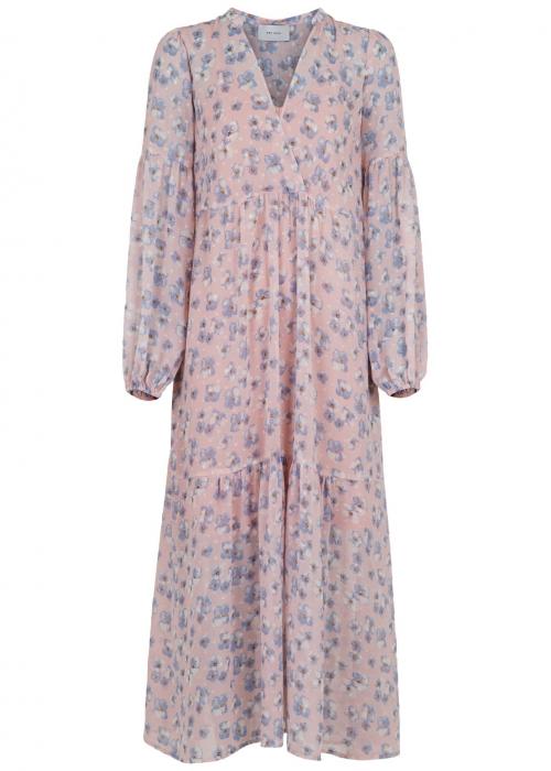 Miles sky flower dress LIGHT BLUE