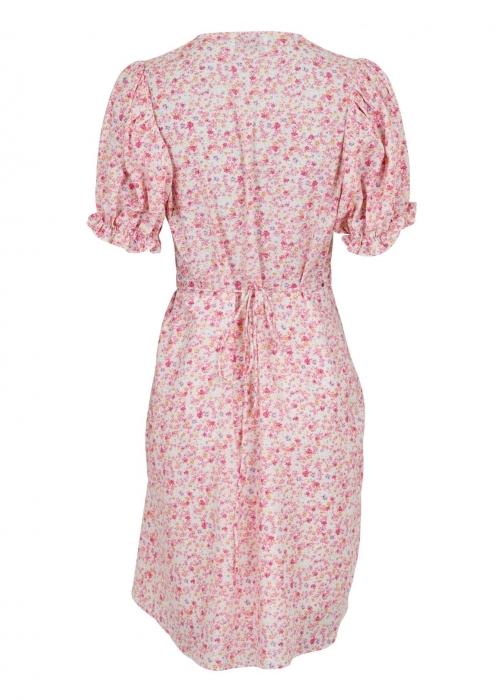 Spang summer floral dress LIGHT PINK