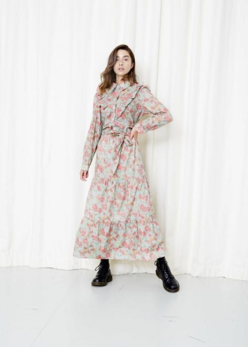 Laura dress PINK FLORAL