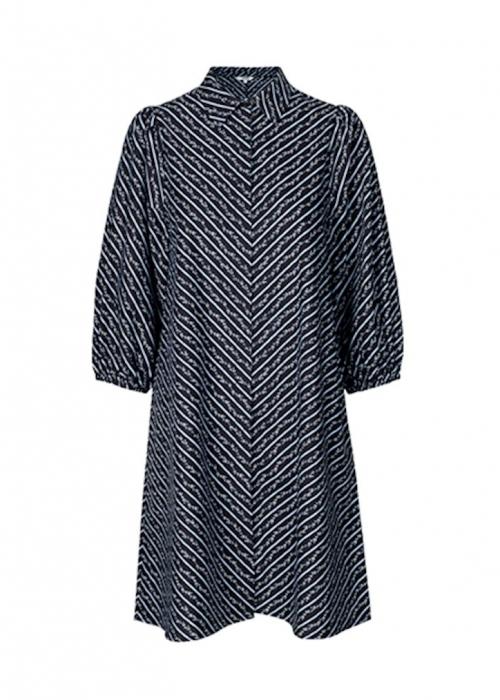Taimi dress BLACK/BLUE