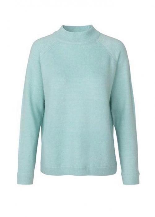 Elwira ice knit CANAL BLUE MELANGE
