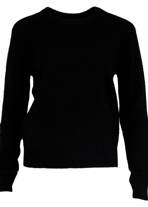 Dina knit BLACK