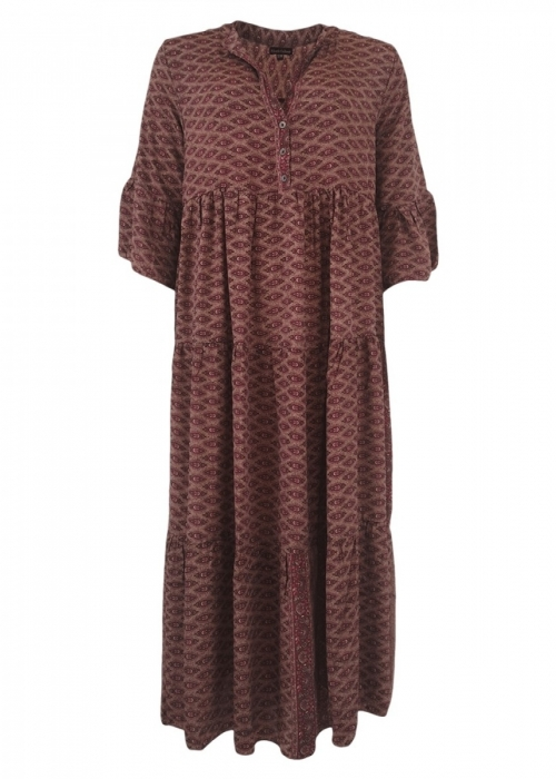 Luna boho long dress ORIENTAL BLUSH