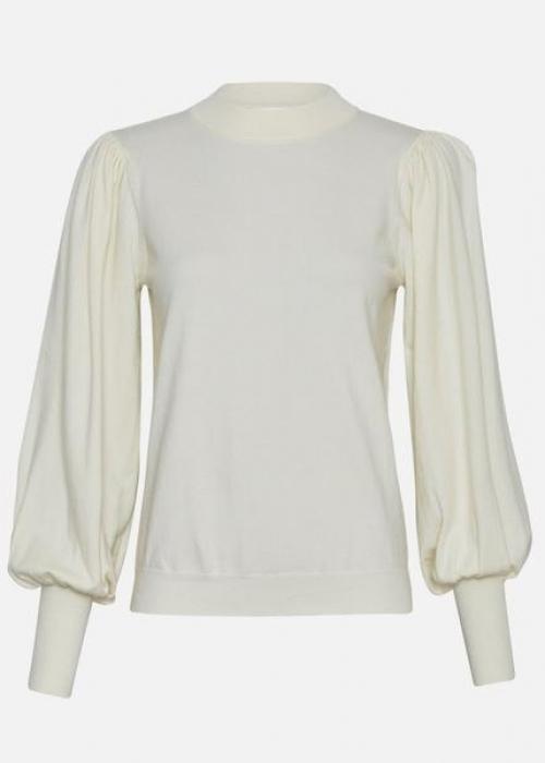 Talma Helena L/S Pullover EGRET