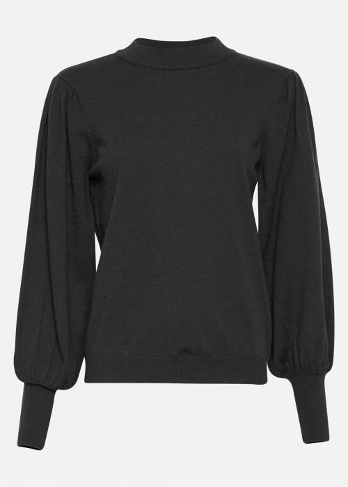 Talma Helena L/S Pullover BLACK