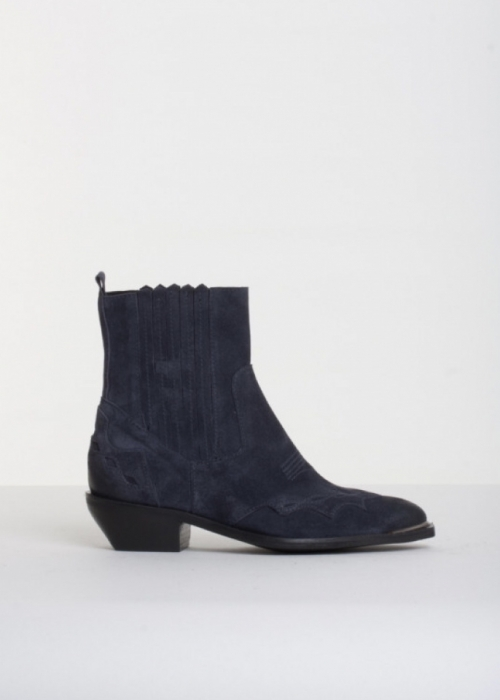 Casey oil suede boot MARINE