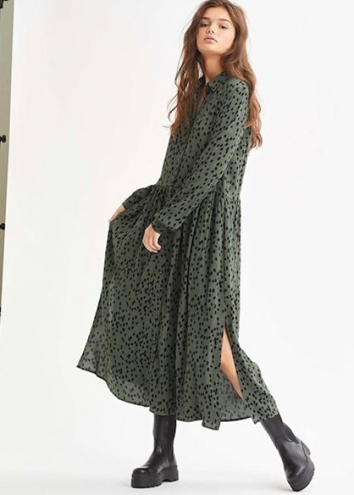 Ellia dress GREEN