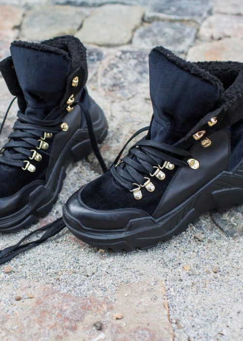 Karla boot by Josefine Valentin BLACK