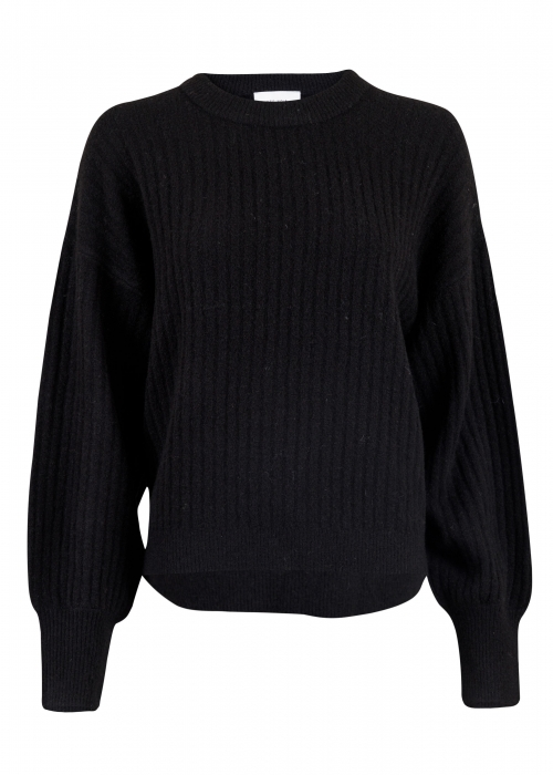 Condor knit blouse BLACK