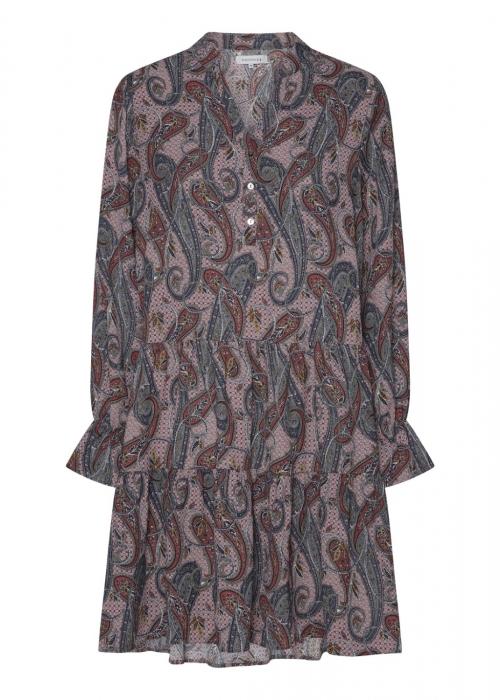 Annika dress ROSE PAISLEY PRINT