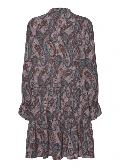 Annika dress ROSE PAISLEY PRINT