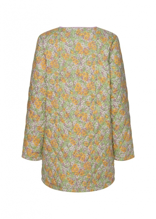 Nellie jacket YELLOW FLORAL