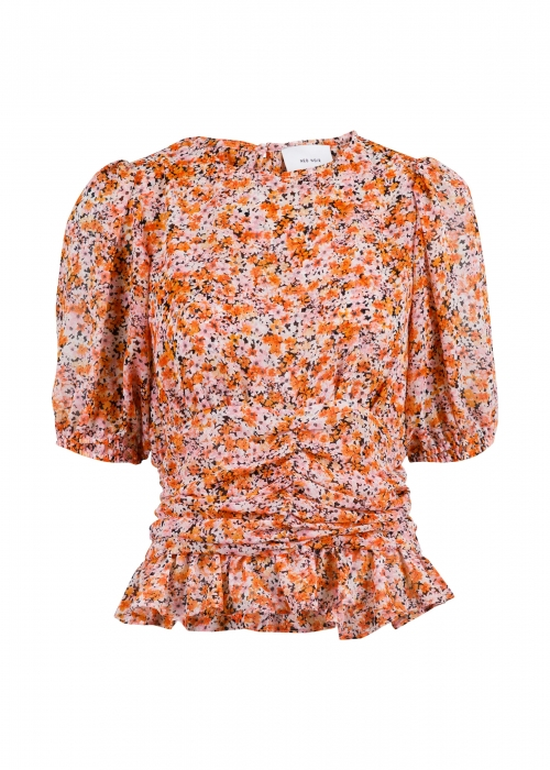 Tomine dreamy fall blouse ORANGE