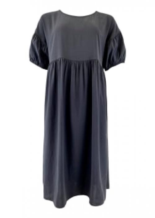 Kenza cupro dress BLACK
