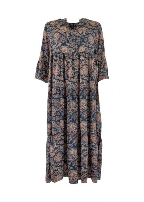 Luna boho long dress MIDNIGHT LOTUS