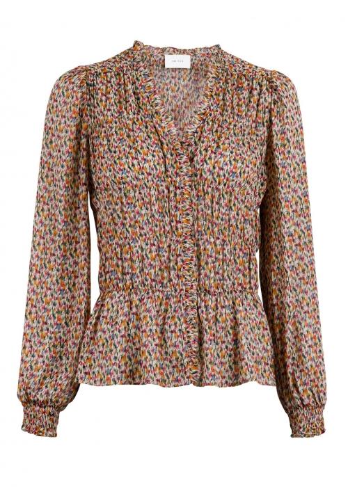 Ora multi graphic blouse MULTI