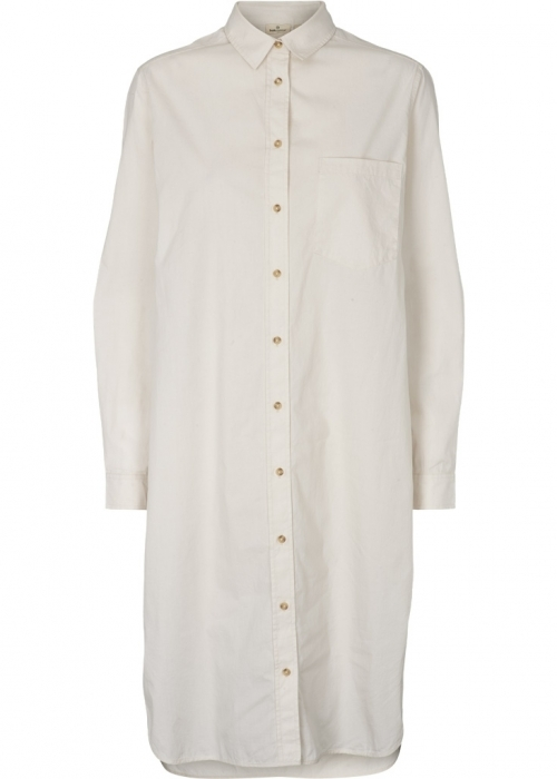 Vilde shirt dress CHALK