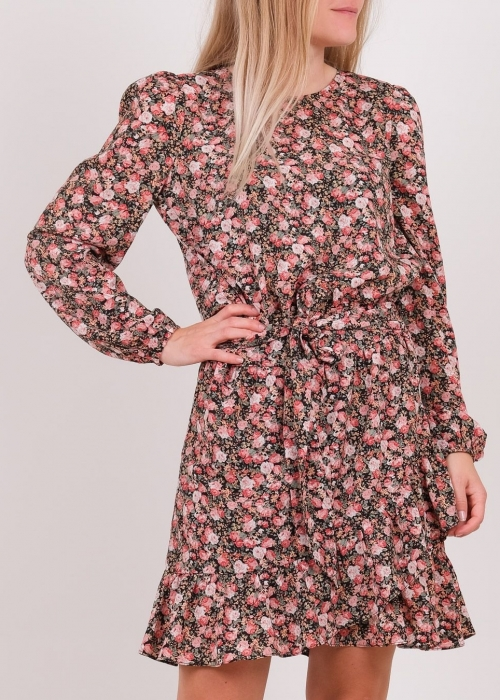 Fenja vintage rose dress BLACK