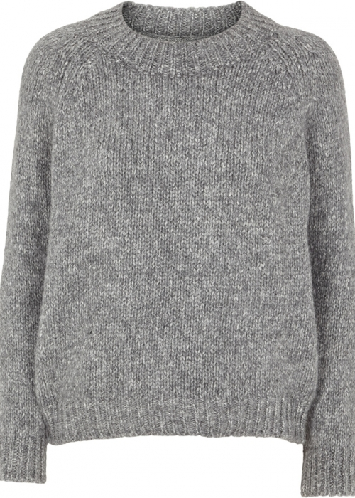 Aliki sweater LIGHT GREY MELANGE