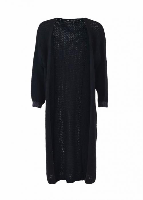 Lorrie long knit Cardigan NAVY