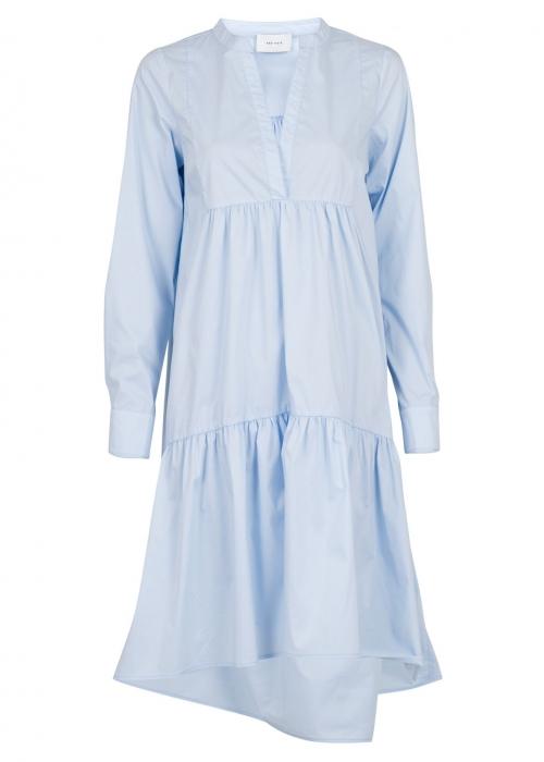 Sylvia poplin dress LIGHT BLUE