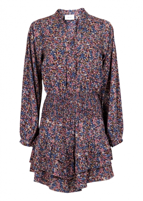 Magda petit flower dress BLUE
