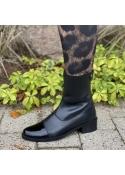 She patent boot BLACK