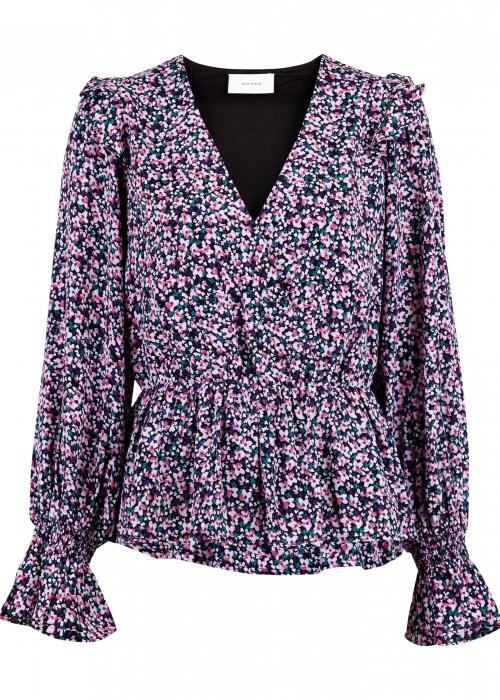 Vanja floral meadow blouse ROSE