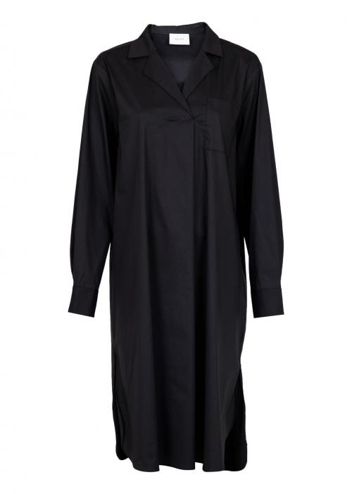 Jessica shirt dress BLACK