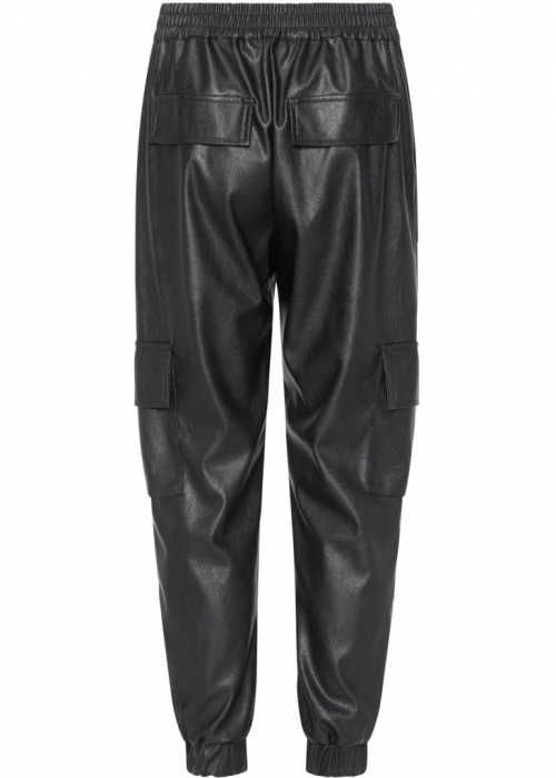 Duffy pvc pants BLACK