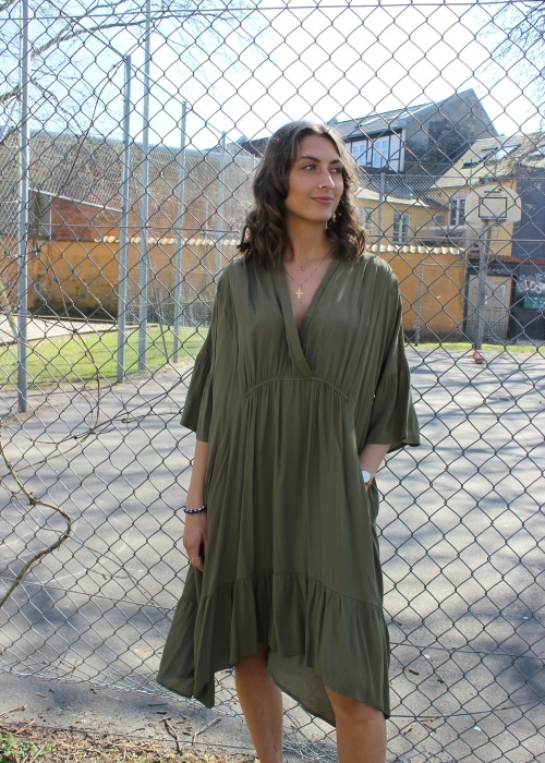 Karoline short dress ARMY