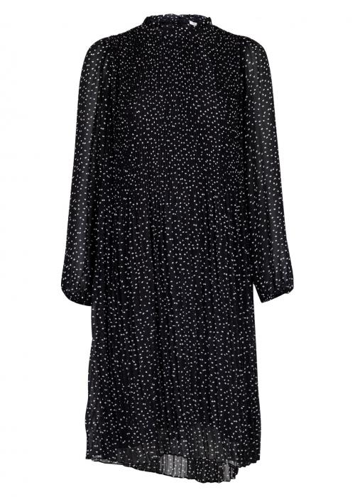 Sonne dot dress BLACK
