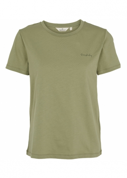 Simplify tee OIL GREEN