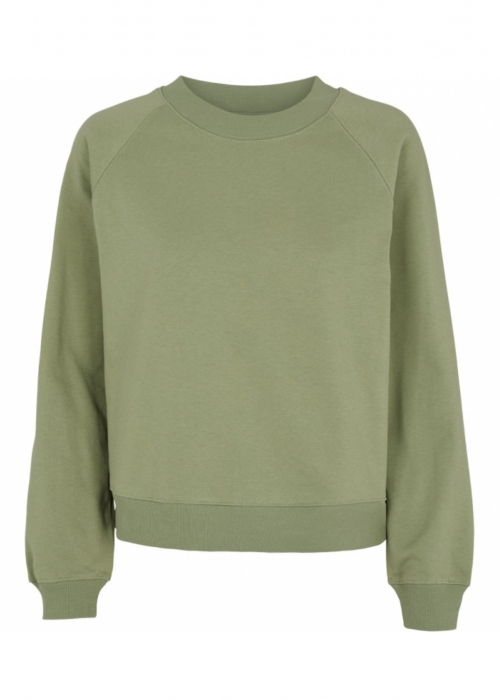 Maje Sweatshirt OIL GREEN
