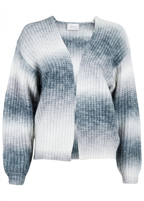 Nadia Ombre knit cardigan GREY