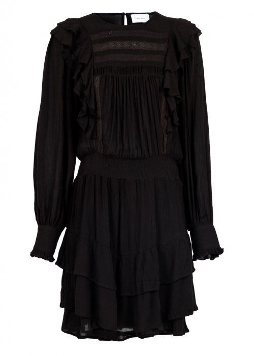Mimba crepe dress BLACK