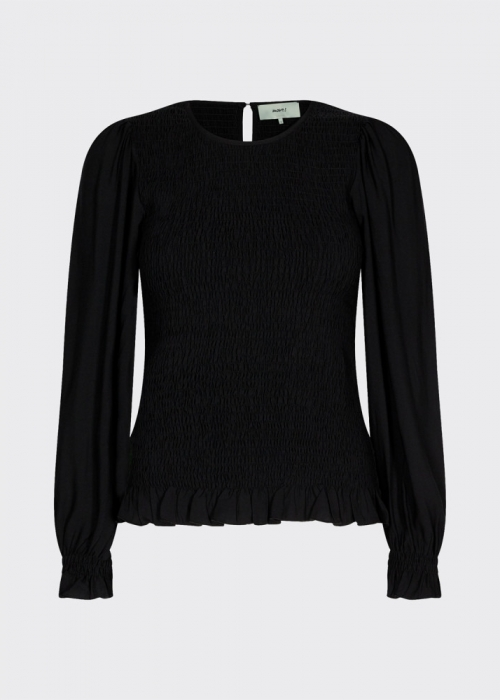Danima LS blouse BLACK