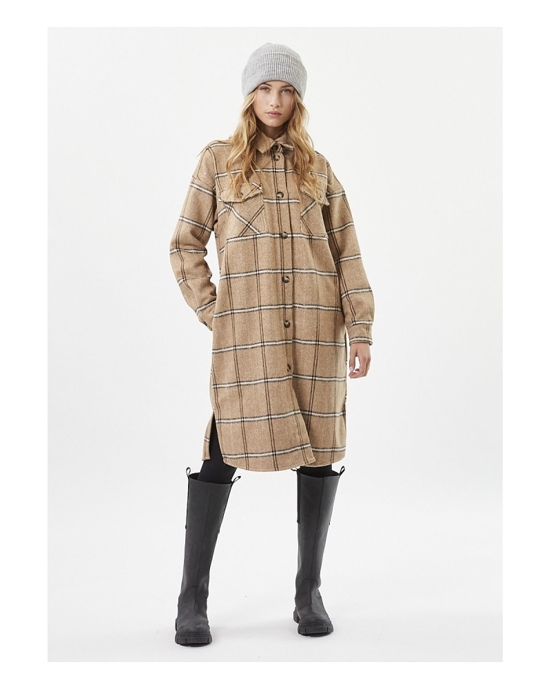 Lowisa overshirt jacket CAMEL