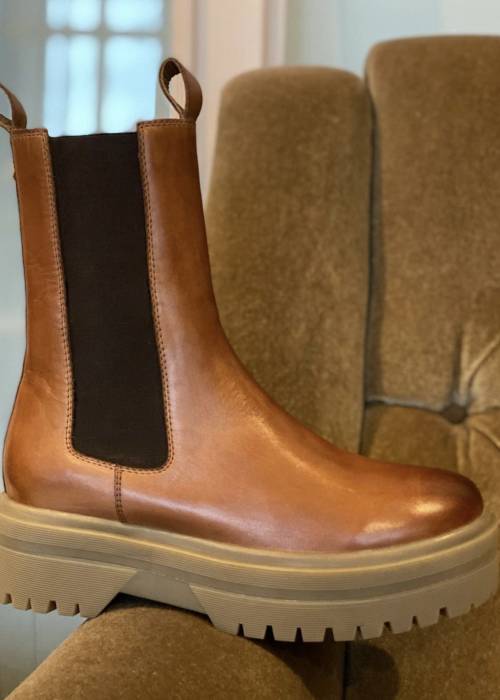 Going boot COGNAC (Levering ca. 18. December)
