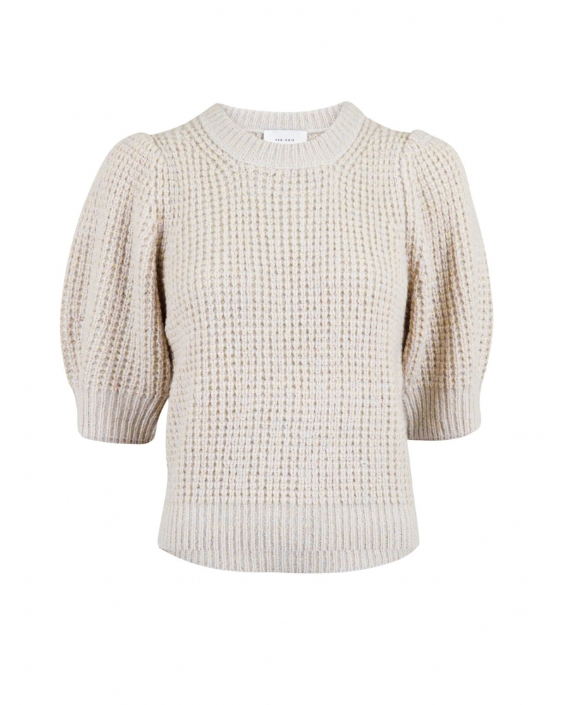 Abi big stitch blouse LAVENDER MIST