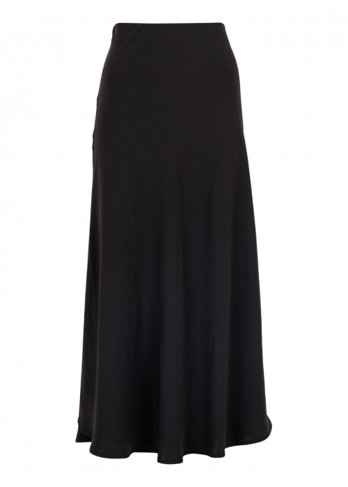 Bovary structure skirt BLACK