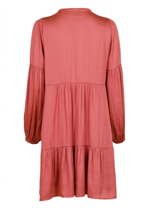 Melly sateen dress ROSE