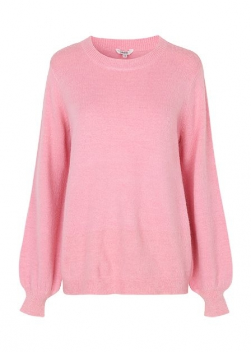 Helanor knit blouse PINK