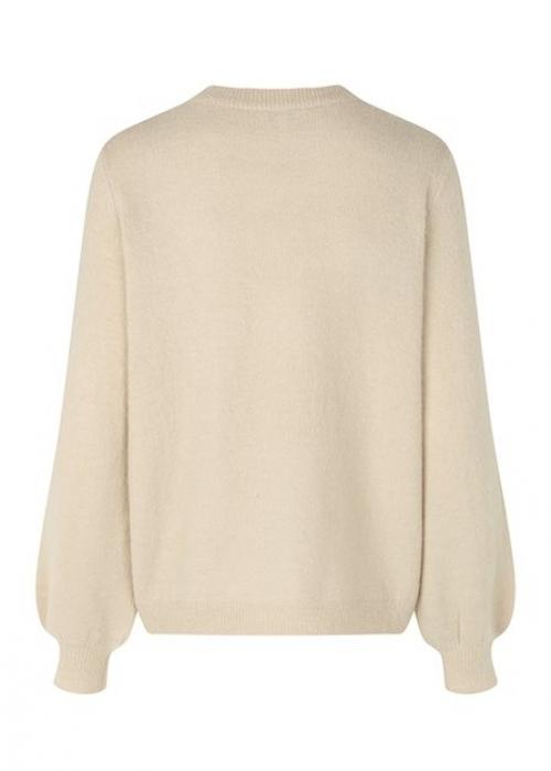 Helanor knit blouse SAND