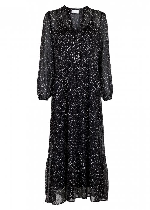 Nobis sparkle dress BLACK